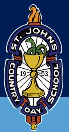 st johns country day logo