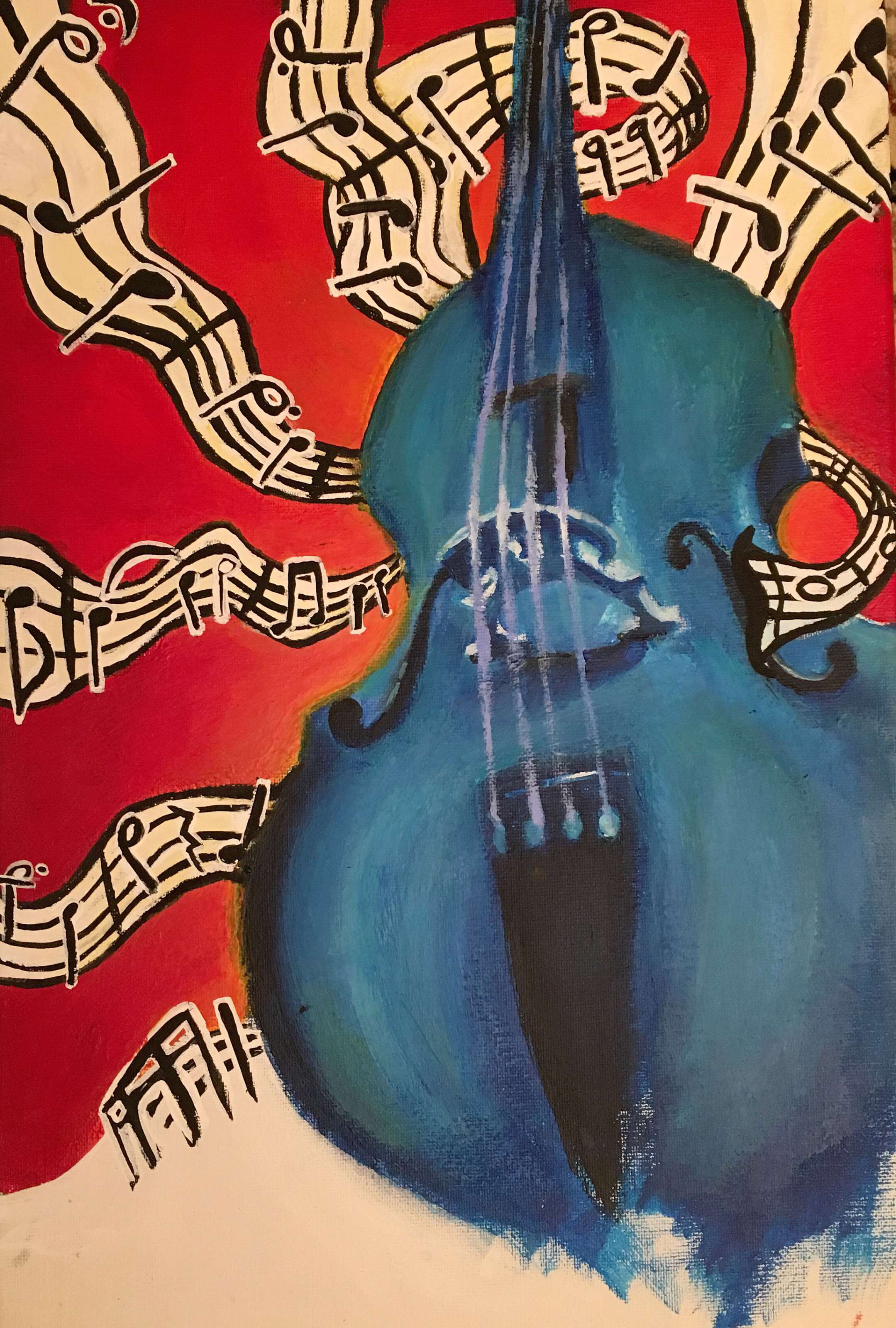 """Melodic Muse"" by Shelby McLees 2019 Poster Winner!"