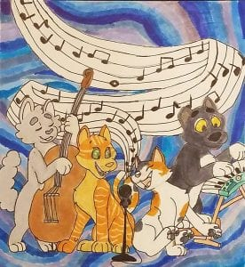 The Cat Quartet - Mary Uccio